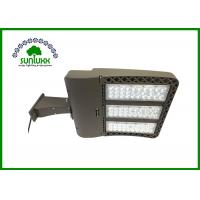 Buy cheap American Style Shoebox Parking Lot Light Fixtures 5700K 39000 Lumens With Photocell from Wholesalers