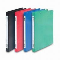 China PP Ring Binder in Silkscreen, OEM/ODM Orders are Welcome factory
