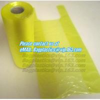 China biodegradable, Carrier, Refuse SACKS, Bin Liners, Nappy bags, Draw string & Draw tape bags factory