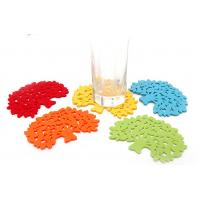 China promotional gift cup mat cup pvc mat beer mat table protector heat resistant silicone mat factory