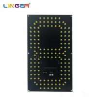 China Durable 10 Inch 7 Segment Digit Led Separate Digit To Compose Gas Price Sign factory