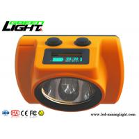 Buy cheap 25000lux Cordless Mining Cap Lamps CREE ABS/PC Hard Body Material 1 Year Warranty from Wholesalers