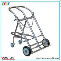 Quality Stainless Steel Cylinder Hand Truck With Double Cylinder TY130B for sale