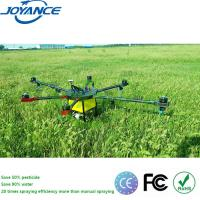 China 6-Axis 10KG Agricultural Spraying Pesticide Drone Crop Duster UAV Drone for Farming on sale