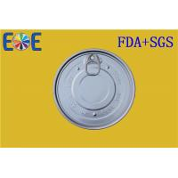 Buy cheap Metal Container Aluminum Easy Open Ends 126.5mm Full Open EOE Lids from Wholesalers