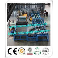 China Automatic HVAC Duct Manufacturing Line , Wind Tower Production Line Make Heating Duct factory