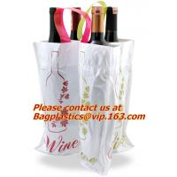 China Customized low price promotional eco-friendly pvc soft loop handle plastic bag factory