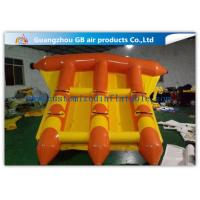 China Pvc Water Sports Toy Towable Inflatable Flyfish Boa Air Inflatable Flying Fish factory
