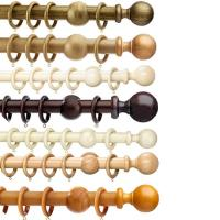 China wooden curtain rod on sale
