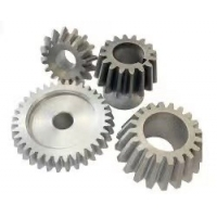 China Custom Steel 1-15 Module Helical Spiral Bevel Gear Cone Crusher Spare Parts factory