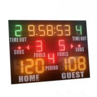 China Popular Size Small High School Basketball Scoreboard With Standard Layout factory