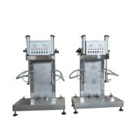 China Double Head Semi Automatic Keg Filler Reliable Working Performance factory