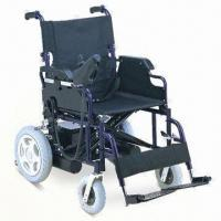 China Powered Wheelchair with Powder Coating Steel Frame factory