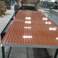 China 60kg fireproof 50mm modified eps sandwich panel 1150-50-0.426mm for wall factory