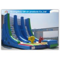 China OEM Island Theme Inflatable Water Slides For Teenagers In Graden / Park / Backyard factory