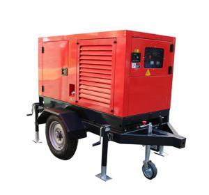 China 400A DC MIG Welding Machine Diesel Welder Generator TIG Stick Inverter Mobile trailer factory