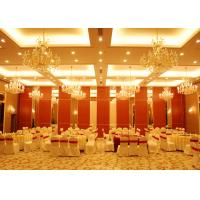 Buy cheap Conference Room Folding Partition Walls Customers Own Material Finish from Wholesalers