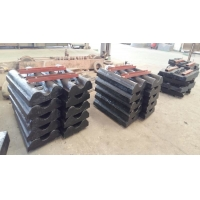 China Mn Alloy Steel Ball Mill Liner Plate and rod mill liner with  High Wear Resistant and long life factory