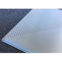 Quality Perforated Aluminum Ceiling Panels 600x600mm Lay-on Metal False Ceiling for sale