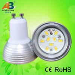 dimmable led gu10 fitting light 12v ac/dc &85-265v ac 9smd
