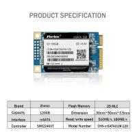 Buy cheap High Speed Q1 Internal SSD mSATA 120G MLC For PC Notebooks 3.3V Input from Wholesalers
