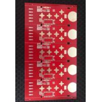 ENIG TG180 4 Layer PCB Board Red Soldermask PCB Fabrication Service