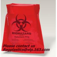 China Clinical waste bags, Specimen bags, autoclavable bags, sacks, Cytotoxic Waste Bags, biobag factory