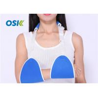 China JYK-C007 Blue Broken Elbow Brace , Arm Support Belt Breathable Skin - Fitted factory