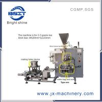 Buy cheap Stick tea bag packing machine with hole and envelope back sealing for infusion from wholesalers