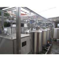 China Tub Type 1 T/H Automatic Dairy Production Line For Milk / Stirred Yogurt on sale