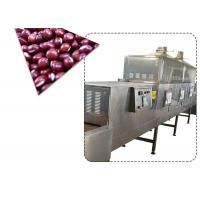 Buy cheap Belt Type Microwave Soybean Flower Dryer Machine PLC And Touch Screen Control from Wholesalers