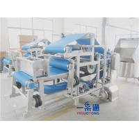 China Continuous Belt Filter Press Industrial Juicer Machine For Fruits And Vegetables on sale