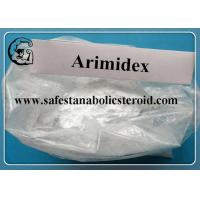 Buy cheap Anastrozole Powder Legal Raw Steroid Powders Arimidex For Treatment of advanced breast cancer from Wholesalers