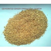 Buy cheap Dehydrated ginger granules16-26mesh,natural orgnic ginger products,GRADE A from wholesalers