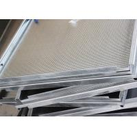 China White Hook On Ceiling System , Antistatic  Aluminum False Ceiling  By Smooth  Surface factory