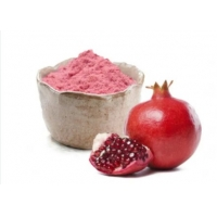 China Water Soluble Light Pink Fine Pomegranate Extract Powder factory