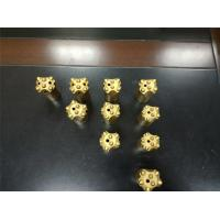 Buy cheap 28 -42 Mm 6/ 7/11/12 Degree Tapered Button Bits For Mining Quarrying Tunneling from Wholesalers