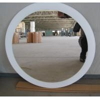 China 700mm * 500mm Round Decorative Glass Mirrors 4mm / Clear Silver Mirror factory