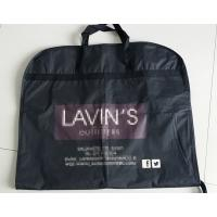 China Zippered Garment Bags With Pockets / Cloth Garment Bags , Fold Up Garment Bag factory