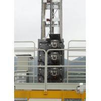 Buy cheap Low Starting Current Buck Hoist Elevator , Rack & Pinion Elevator Cage Height Internal 2.35M from Wholesalers
