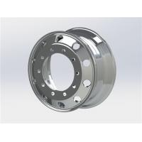 Buy cheap Diegowheels 22.5*8.25 Casting Flow Formed Aluminum Alloy Wheels,Customized E-coating Wheels from Wholesalers