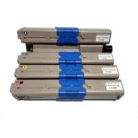 China Remanufactured for OKI 44973545/ 44973546/ 44973547/ 44973548 Color Toner Cartridges factory