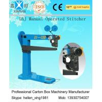 Buy cheap Stable Running Cardboard Semi Auto Stitching Manual Operation 1900 X 700 X 1820mm from Wholesalers