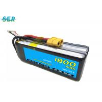 Buy cheap Rechargeable RC Car Battery 35C 14.8V 1800mAh Li Polymer For Mini Helicopter / from wholesalers
