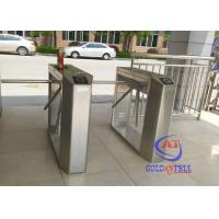 Buy cheap Full automatic rotating gate tripodHalf Height Turnstiles in universal remote control from Wholesalers