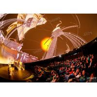 China Stimulate Immersive Experience 4D Dome Movie Theater For Shopping Mall factory