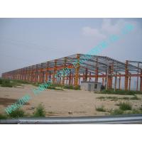 China Customized Metal Pre-engineered Building Fabrication With Steel Panel Wall Roof on sale