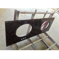China High Resistance Granite Vanity Tops Baltic Brown For Bathroom , SGS CE Listed on sale