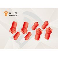 China Durable Alloy Underground Drill Bits Hard Rock Tools Long Service Life factory