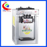 China Table Top Commercial Ice Cream Machine Kitchen Equipment 3 Flavor With Three Handle factory